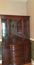 Dove-tailed wooden hutch