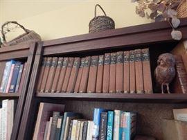 More books, antique books too.