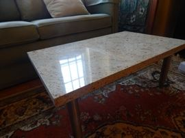 Marble stone coffee table. Small size.