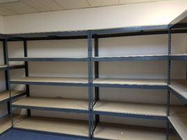 Industrial Garage Storage Shelves