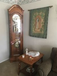 Home decor including this Howard Miller Grandfather clock