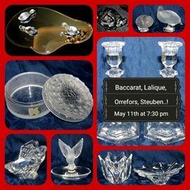 Baccarat Lalique Orrefors