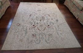 Decorative rug - perfect for current decorating trends