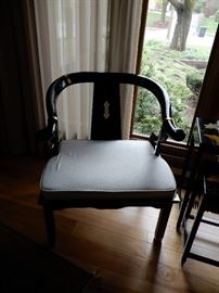 A PAIR OF THESE ORIENTAL SIDE CHAIRS