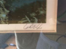 Gregg Johnson Signed Print