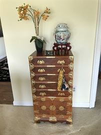 Chinese Flatware Chest Cabinet