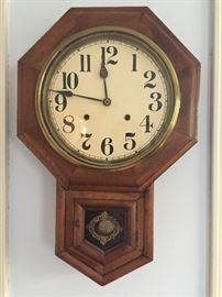 Antique pendulum clock (currently does not keep time)