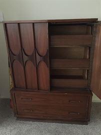 mid-century modern wardrobe/dresser
