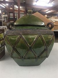 Large decorative pot