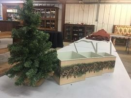 Small tree with nesting boxes