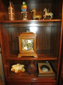 Beautiful Howard Miller Triple Chime Kieninger Clock, We Also Have A Sir Francis Drake Falling Ball Clock Not Pictured.