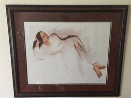 R. C. Gorman framed posters - total of 4