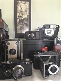 This group includes a Russian Contax, a Foldex 20 Pho-tak, Fotron III and more