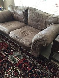 Leather Couch - Restoration Hardware