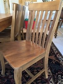 Side chairs to harvest table (6 side)