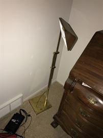 SOLID BRASS FLOOR LAMP