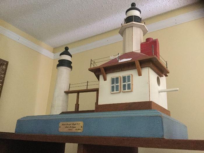 St. Joseph Lighthouse #17  by R. Bibler