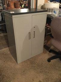 Steelcase locking supply cabinet