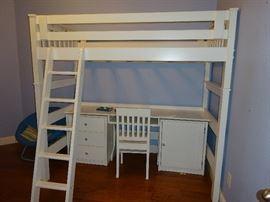 bunk bed set with desk Pier 1 for Kids