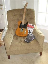 electric guitar - Brad Paisley