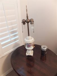 Antique (?) table lamp