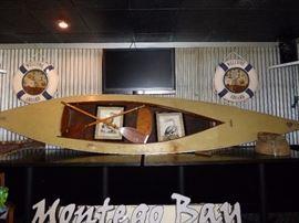 Vintage Cajun Pirouge Boat