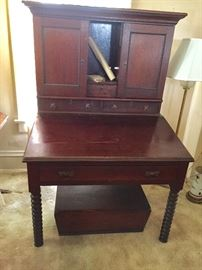 Dated late 1800 made by Brown Brothers Furniture Company (Godfrey Brown)