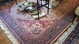 very large - 10x12? - carpet, contemporary, all wool