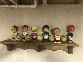 Vintage bobble heads
