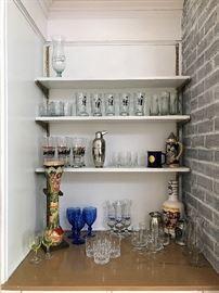 Boot Beer Glasses, Stein, Penguin Martini Shaker & More