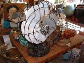 mid century GE fan - working condition
