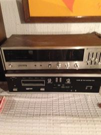 2 vintage 8 track stereos!