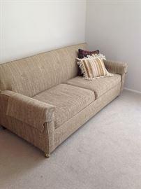 I'm a sofa sleeper!