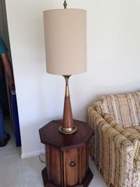 One of 2 matching lamps! I believe the designer is Tony Paul!