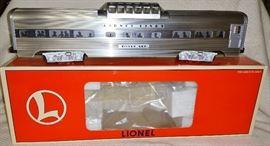Lionel Aluminum Vista Dome Car