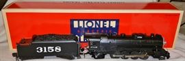 2. Lionel Sante Fe Mikado Steam Locomotive Tender