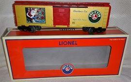 Lionel Angela Trotta Thomas Christmas Eve Box Car
