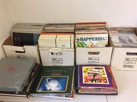 "Older vinyl albums...classical and Hawaiian, some 10"" records"