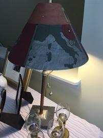 Artisan ceramic lampshades