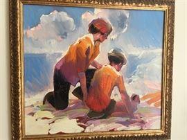 Keith Lindberg original art
