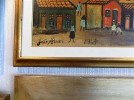 JOAO ALVES- ACRYLIC ON CANVAS-$125.00
