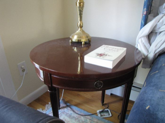 table with beautiful details