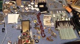 jewelry flatware etc