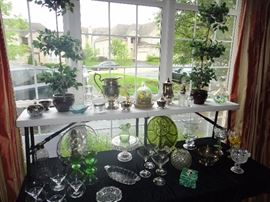 Glass Ware, serving pieces