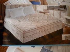 Sleep Number Performance Series P5, Dual air. Split King mattress and box springs. 4 years old