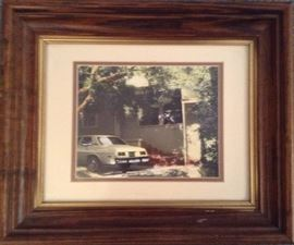 Hand Colored Photograph of Billy's Home by George (photographer) & Mabel (colorist) Thompson December 1989