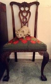 Faithful Reproduction of Chippendale Chair