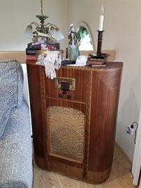 Antique floor radio