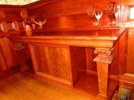 Antique English Sideboard, Original to Home