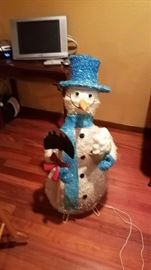 Snowman and TV Both Working!